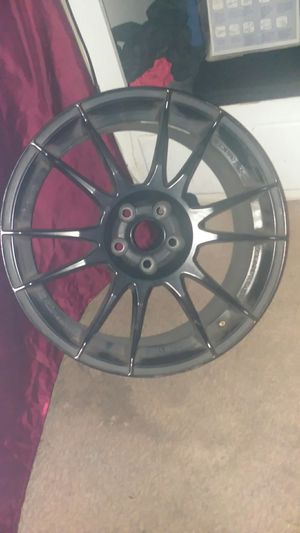MB Wheels 17 in. Matte black rims for Sale in Henderson, NV