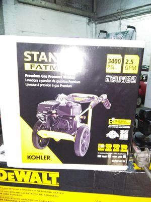 3400 psi Stanley pressure washer for Sale in Baltimore, MD