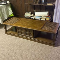 Wood Low Profile Coffee Table for Sale in Monaca,  PA