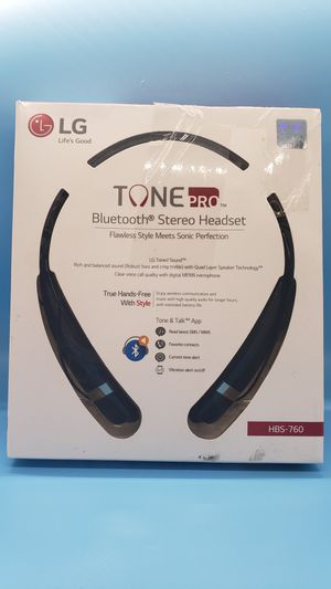 LG TONE PRO BLUETOOTH STEREO HEADSET for Sale in Arlington, TX