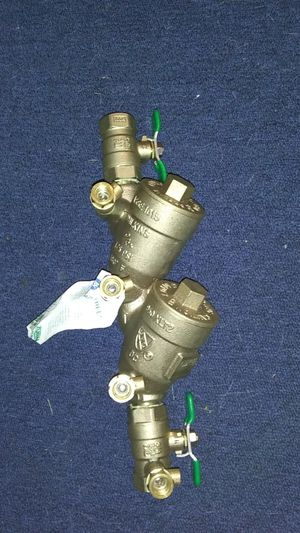 Double back flow valve for sprinkler for Sale in Seattle, WA