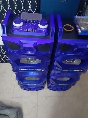 5000 watt bluetooth speaker very very loud for Sale in Secaucus, NJ