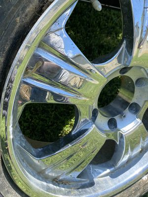 """20"""" Chrome Rims for Sale in District Heights, MD"""