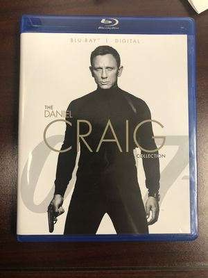 Daniel Craig (James Bond) Collection Blu-Ray Set, Digital Code included! for Sale in Baldwin Park, CA
