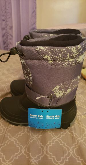 Storm kids Snow boots for Sale in Marblehead, MA