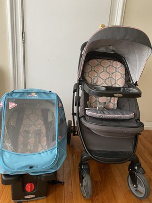 Graco 2 in 1 stroller with cover for Sale in Jersey City, NJ