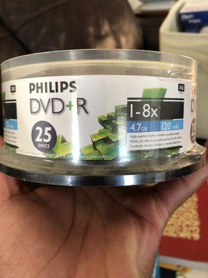 *Brand New/Sealed Package* Philips DVD+R (25 Disc) for Sale in Abilene, TX