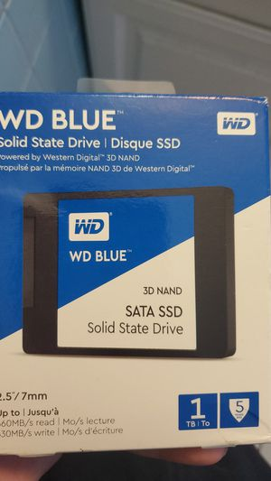 Wd blue 1tb solid state drive for Sale in West Palm Beach, FL