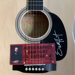 Sam Hunt Autographed Acoustic Guitar for Sale in Fairless Hills,  PA