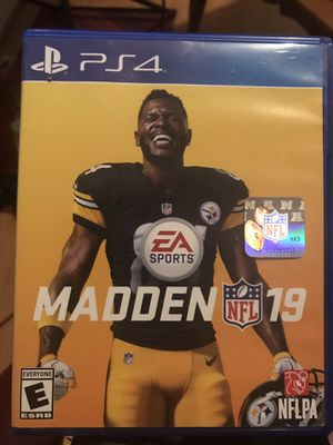 Madden 19 ps4 for Sale in Providence, RI