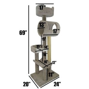 Cat stand Cat trees/ cat stand triple perch/ cat house/ cat condos for Sale in Phoenix, AZ