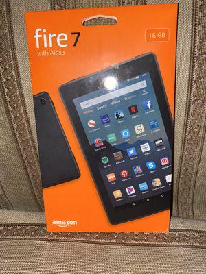Fire 7 Tablet w/ Alexa for Sale in San Jose, CA