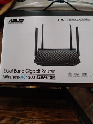 Asus Dual Band Gigabit Router AC1300 for Sale in Queens, NY