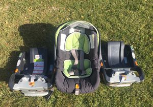 Car seat with 2 bases. for Sale in Price, UT