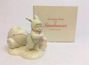 """""""Easter Delivery"""" Springtime Stories of The Snowbunnies Series Snowbaby w/Box for Sale in Hamilton Township, NJ"""