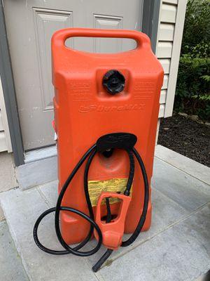 Gas caddy 14 Gallon Duramax Flo N Go for Sale in West Milford, NJ