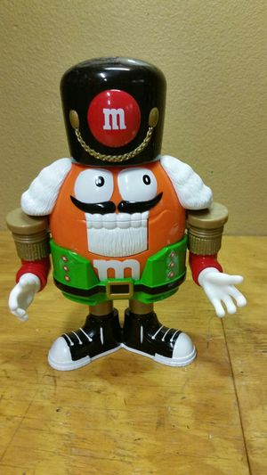 M&M orange nutcracker collectable for Sale in Palmdale, CA