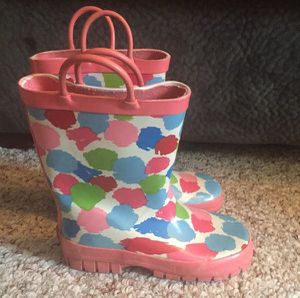 GYMBOREE Galoshes Rain Boots ~ Girls Size 12 - $7 for Sale in Ankeny, IA