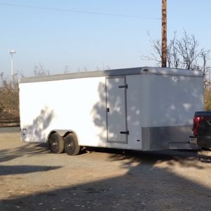 2005 PACE Journey Enclosed Trailer . 8'X20', Dual Axle, Heavy Duty Frame, Great Condition $5,400 OBO for Sale in Visalia, CA