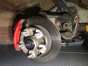 67 VW bus adjustable beam with Porsche 944 Disc brakes for Sale in Riverside, CA