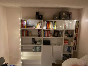 Billy bookshelves perfect condition for Sale in Renton, WA