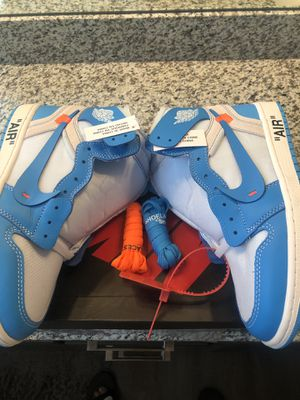 "Nike Air Jordan 1 Retro High NRG Off-White ""UNC"" Sz 9.5 for Sale in Mount Juliet, TN"