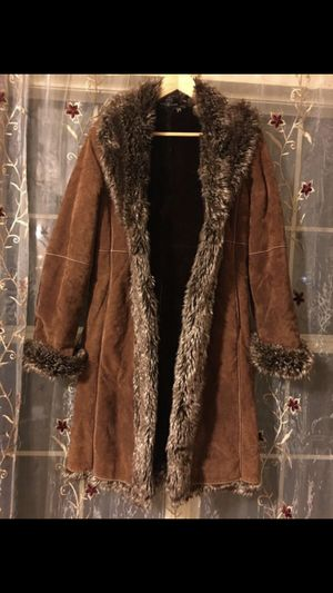 Wilson leather fur coat for women for Sale in Rockville, MD