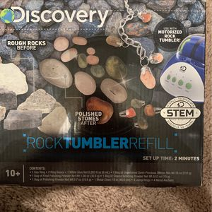 Discovery Rock tumbler Refill for Sale in Columbia, SC