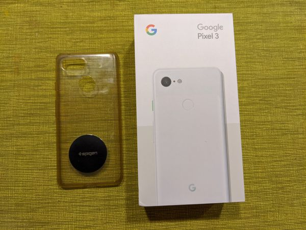 Pixel 3 64gb White Like New In Box