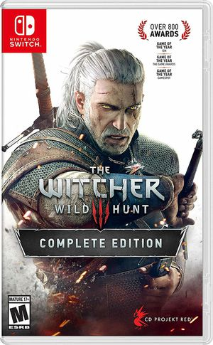 Witcher 3 - Switch for Sale in Kent, WA