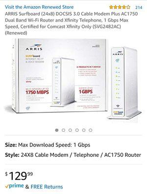 ARRIS Surfboard Internet, WiFi & Voice Modem for Sale in Salinas, CA