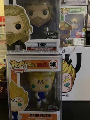 Funko Pop Marvel Dragonball z for Sale in San Diego, CA