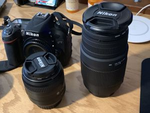 Nikon D7100. Two lenses. Tripod. Perfect for Sale in Los Angeles, CA