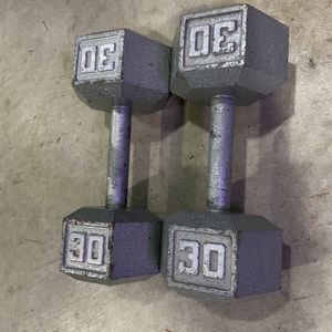 Hex Dumbbells 30 Pounds for Sale in Bothell, WA