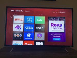 TCL 43S405 43-Inch 4K Ultra HD Roku Smart LED TV (2017 Model) for Sale in Littleton, CO