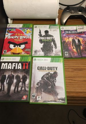 Xbox 360 games used for Sale in Zephyrhills, FL
