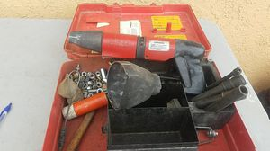 HILTI DX600N, heavy power nail and stud gun with accessories, looks in very good conditions. Please check the pictures. What you see is what you get. for Sale in Fontana, CA
