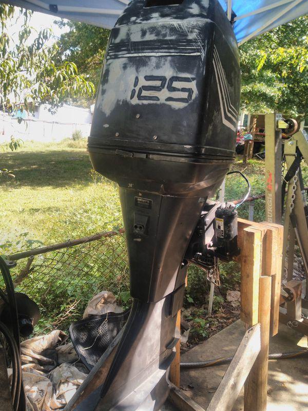 Mercury force 125hp 25inch outboard motor