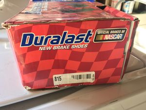 Duralast Rotors and Rear Brake Shoes for Sale in San Diego, CA