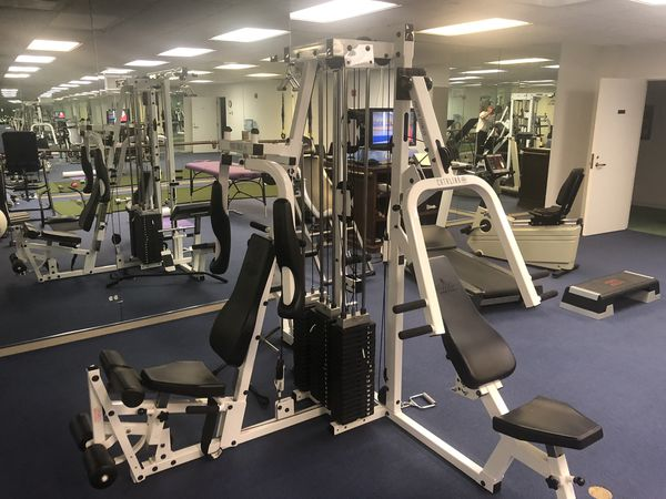 Home gym weights multi-stack