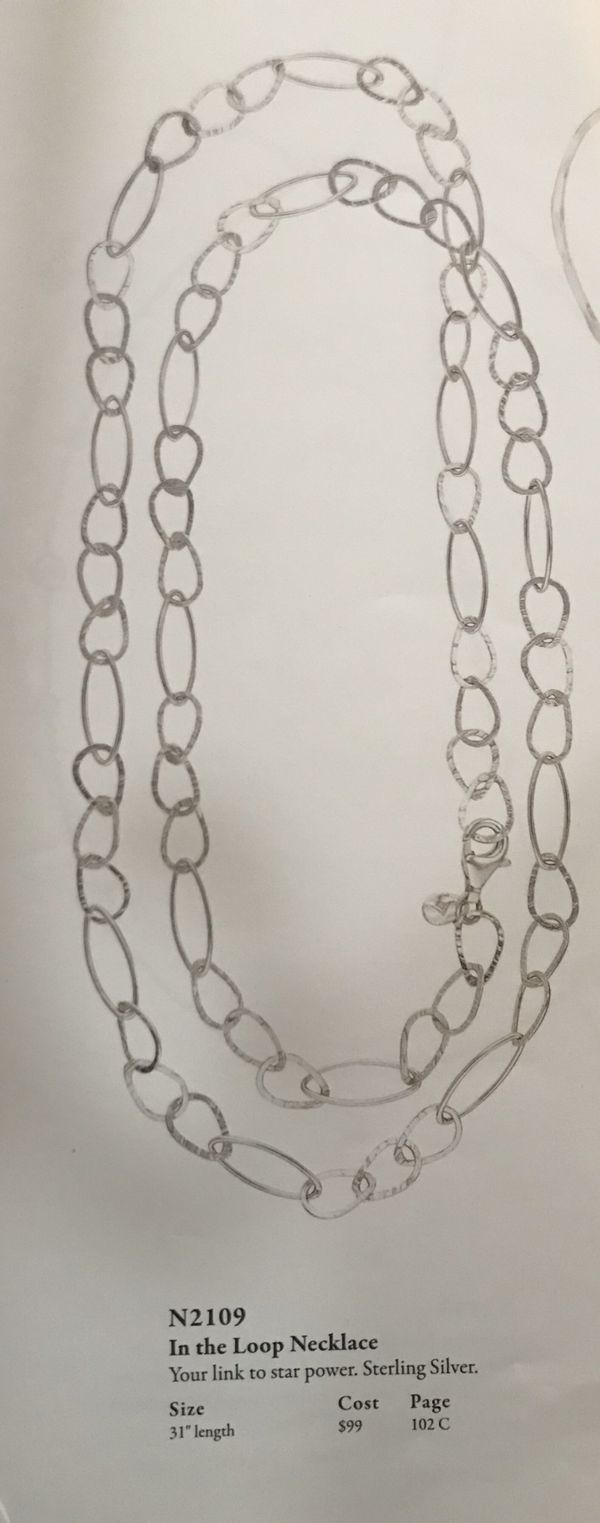 Silpada In the Loop Necklace
