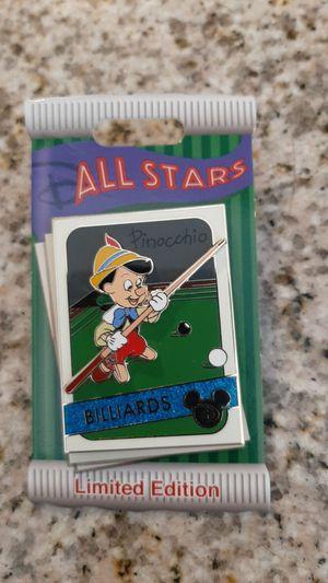 Disney pinocchio pin. for Sale in Las Vegas, NV