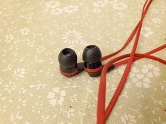 Skullcandy -Wired Earbud Headphones - Red/Black for Sale in Fairfax,  VA