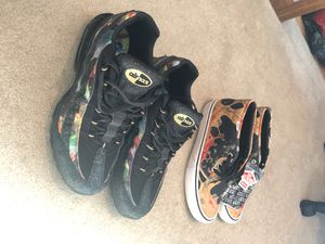 Supreme Vans and Nike airmax 95' for Sale in Fair Lawn, NJ