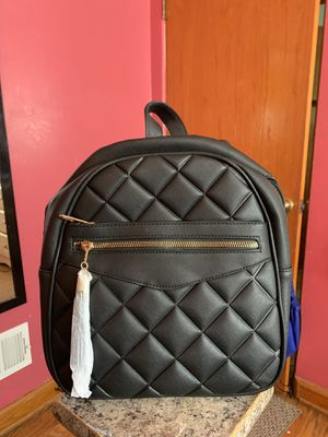 Brand new black leather limelight backpack for Sale in Chicago, IL