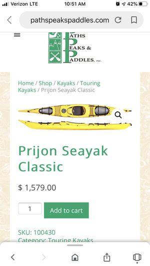 Prijon Seayak Kayak for Sale in Phoenix, AZ