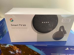 Smart Tv kit google home Mini & Chromecast for Sale in North Miami Beach, FL