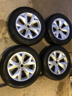 "2018 Volkswagen 18"" wheels and tires for Sale in Cypress, TX"