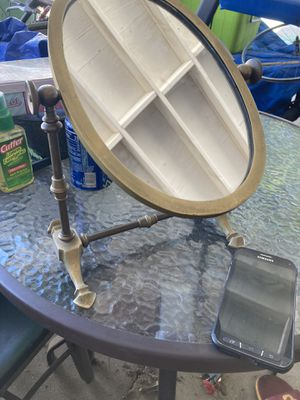 Old school brass antique mirror for Sale in Los Angeles, CA