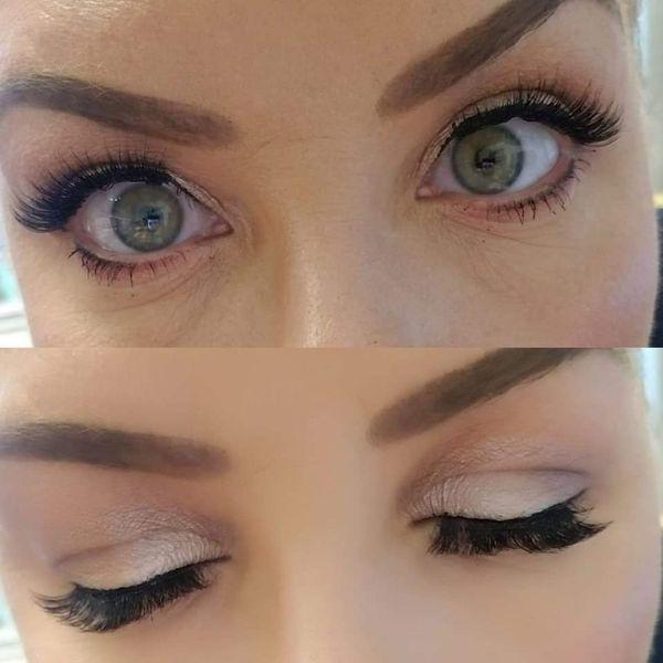 Magnetic Eyeliner and Eyelashes💫